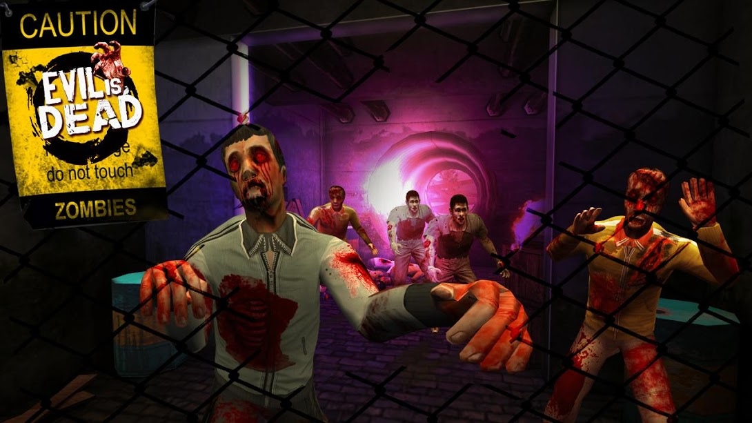 Evil Is Dead Zombie Games for PC