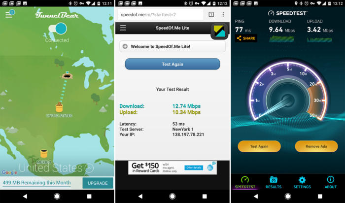 VPN on android