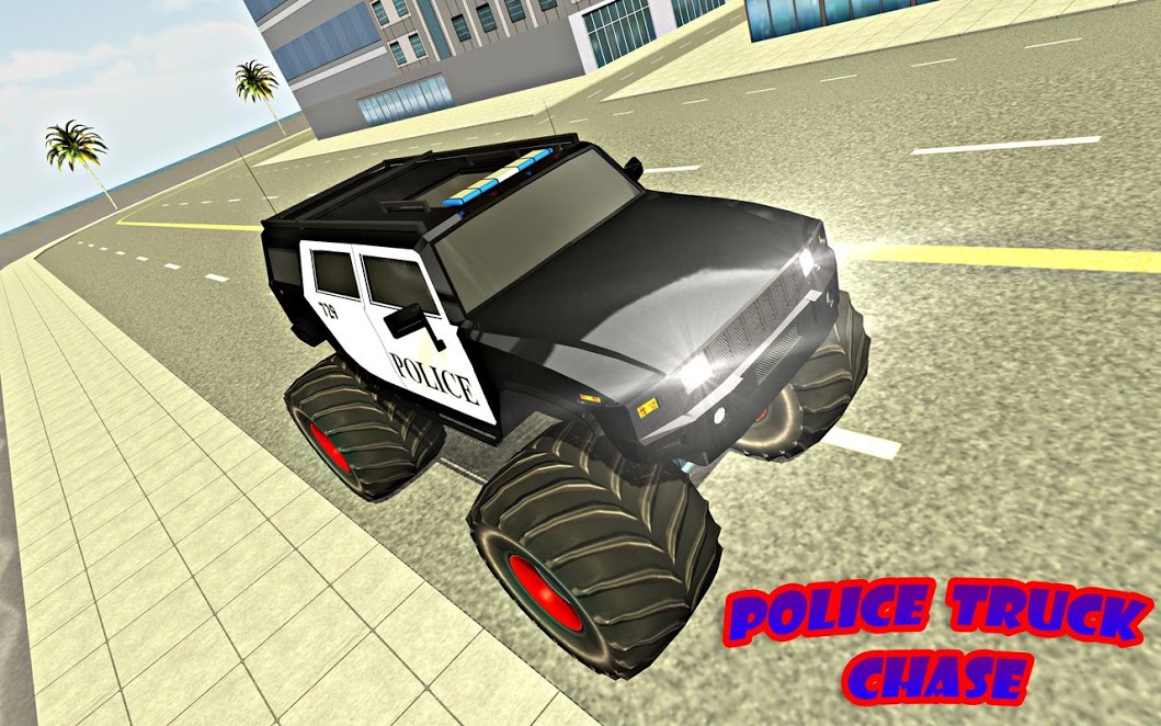 Police Monster Truck Driver Extreme Thief Chase for PC