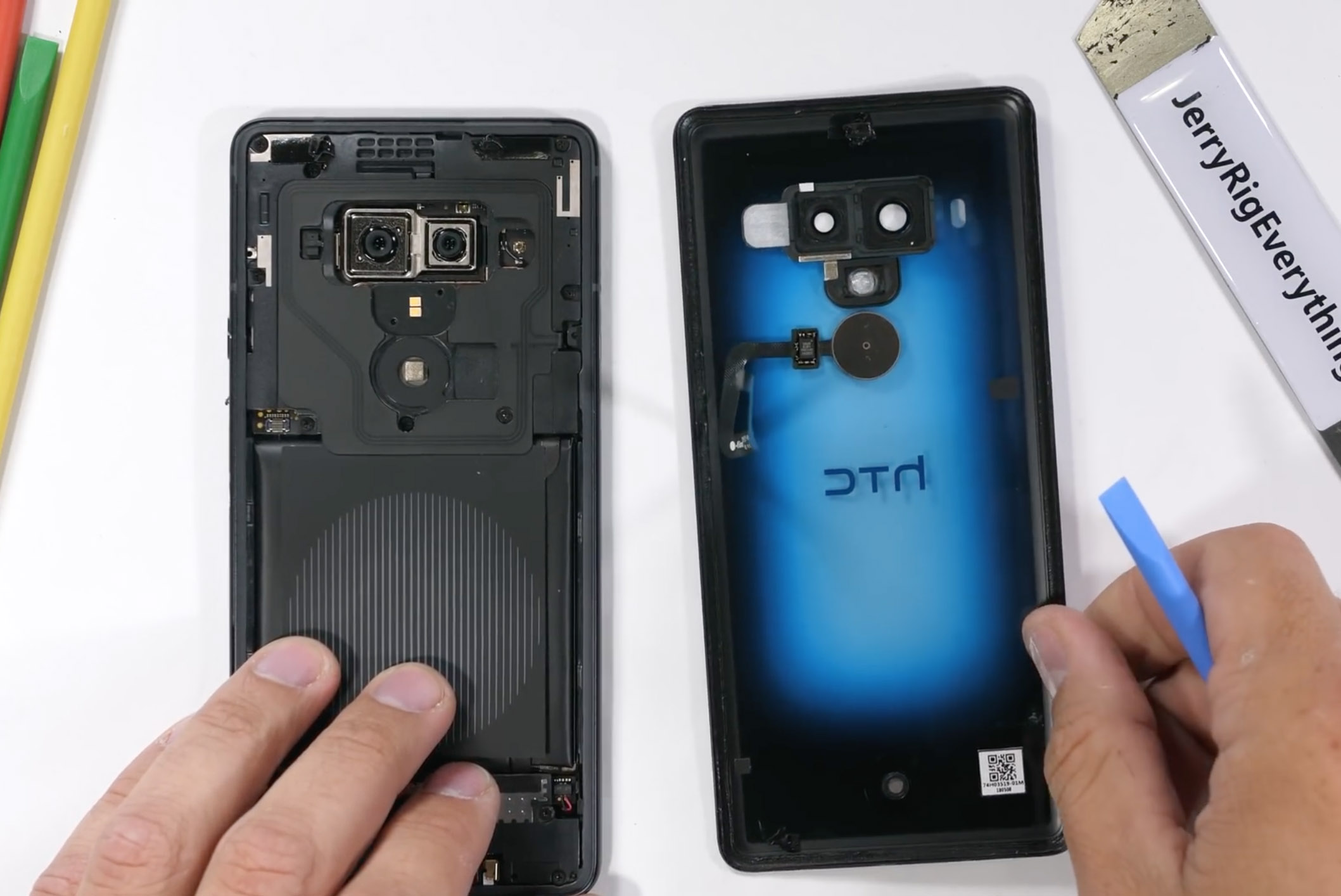 Translucent Flagship from HTC is Difficult to Repair