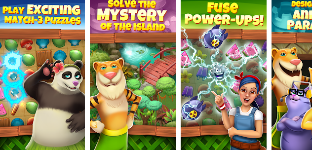 Animal Cove Solve Puzzles & Customize Your Island for PC
