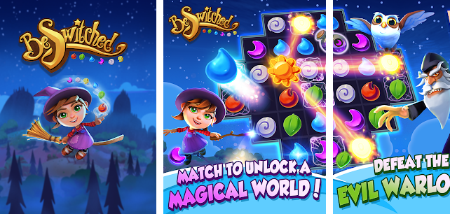 BeSwitched Magic Puzzle Match for PC
