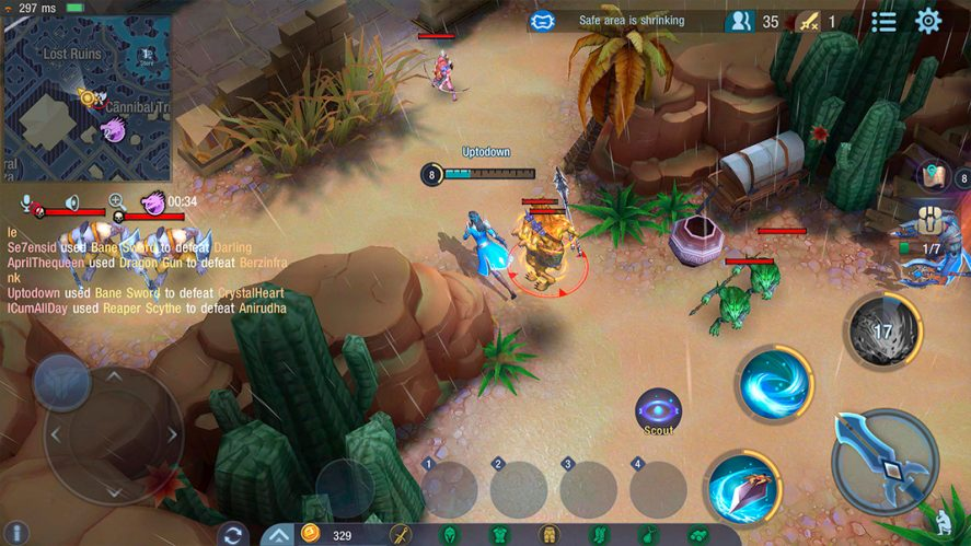 best MOBA on Android