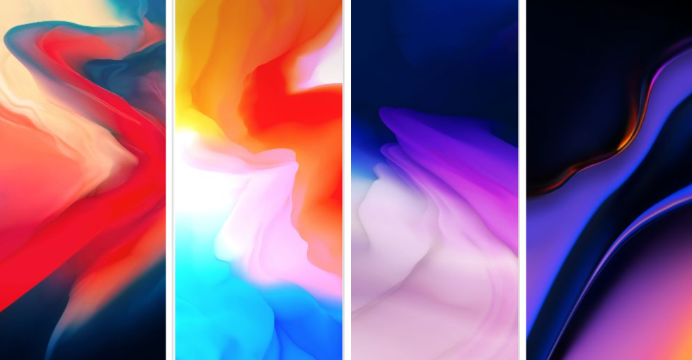 Download OnePlus 6T Stock Wallpapers