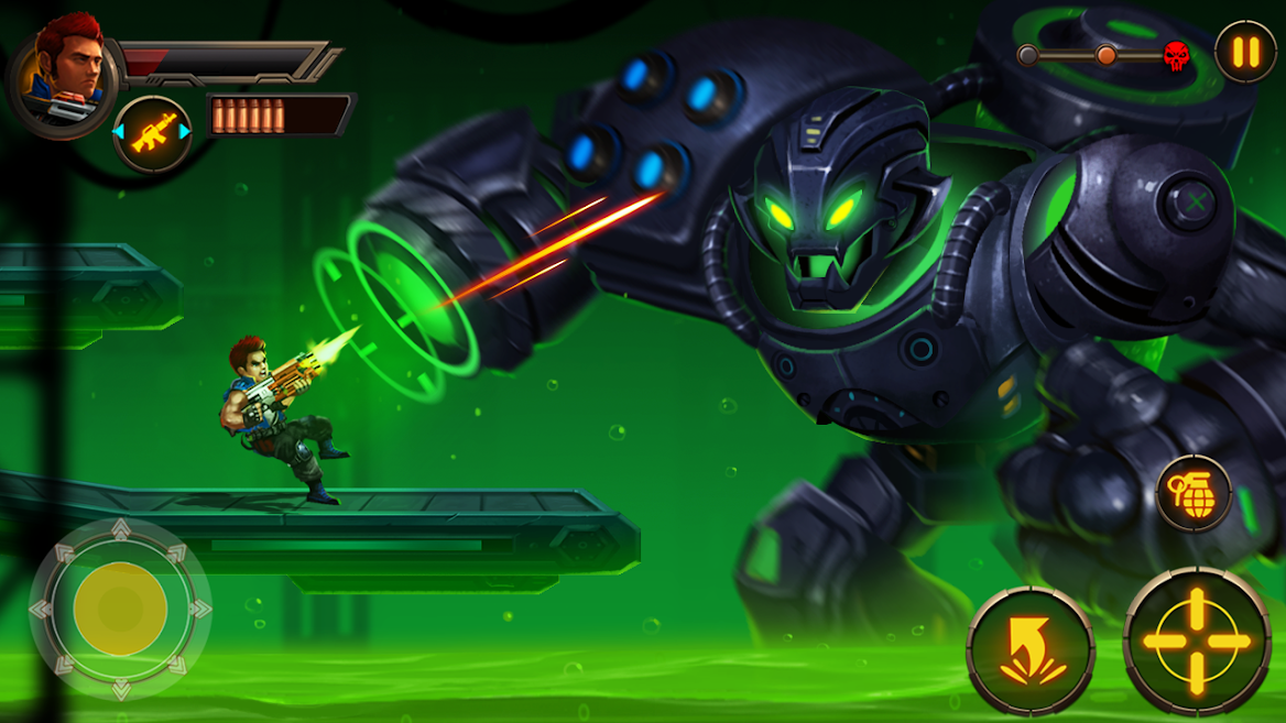 Metal Squad Shooting Game for PC