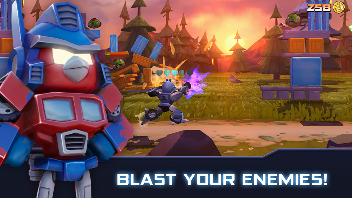 Angry Birds Transformers for PC