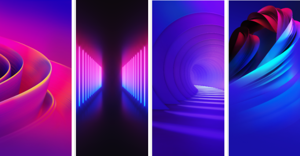 Download Vivo NEX Dual Display Stock Wallpapers