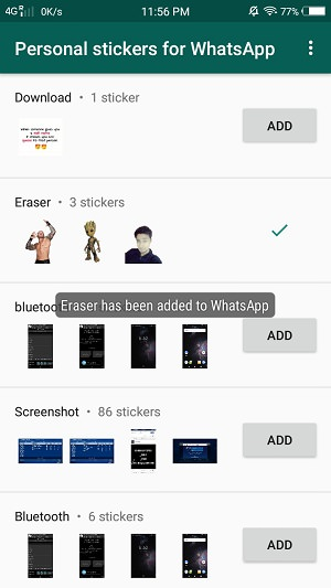 Create Own WhatsApp Stickers