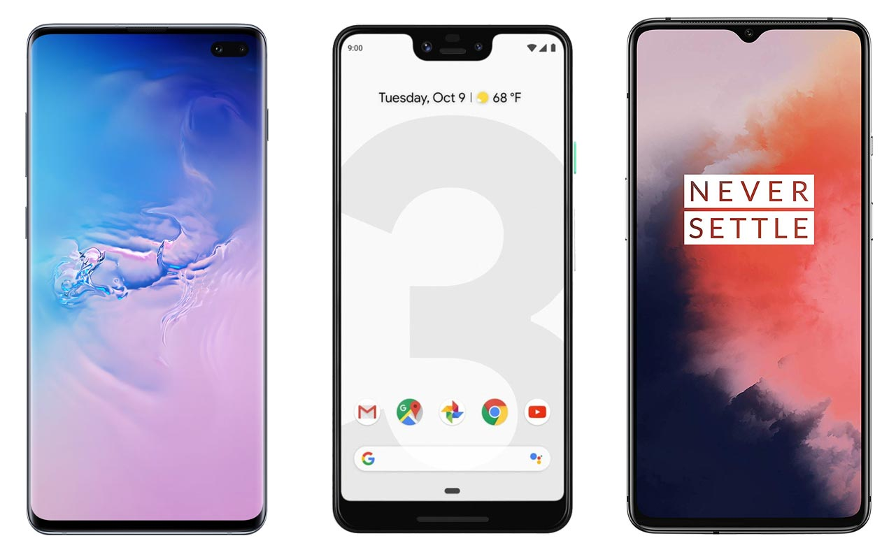 Samsung-S10-Pixel-3-XL-OnePlus-7T-Flagship-level-mobiles