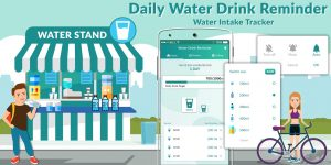 Daily Water Reminder – Hydration and Water Tracker
