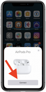 Pair AirPods Pro with iPhone or iPad