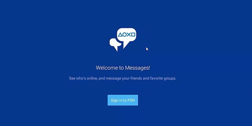 PlayStation Messages For PC, Windows & Mac