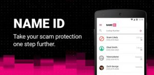 T-Mobile Name ID Android app