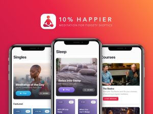 Ten Percent Happier – Meditation & Sleep stress rerlief app