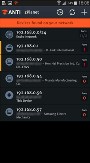 Wireshark Android