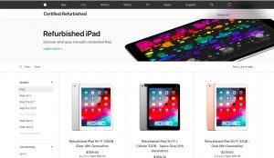 Save Money on Apple Products by Buying Refurbished