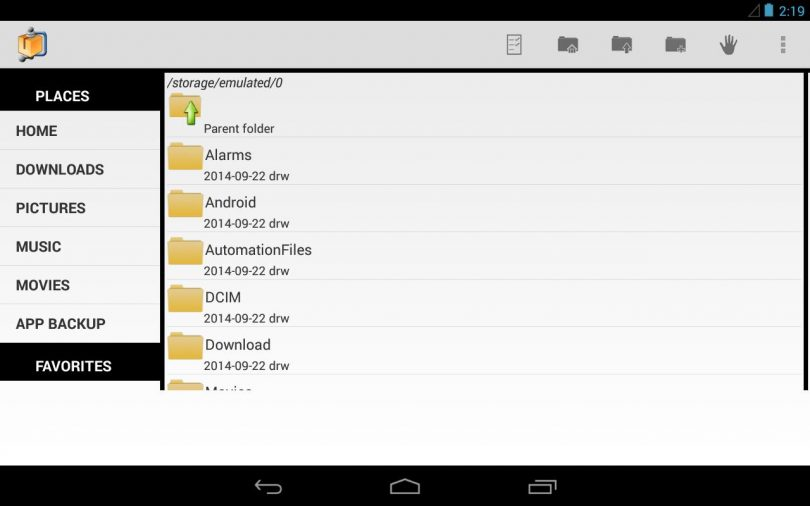 AndroZip File Manager for PC