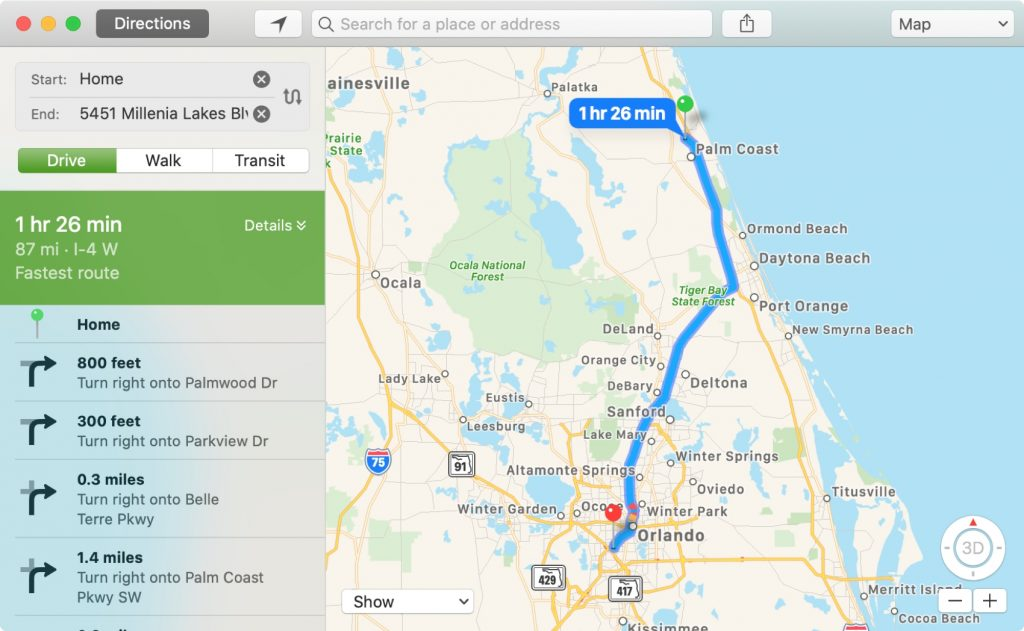 Map-Directions-on-Mac