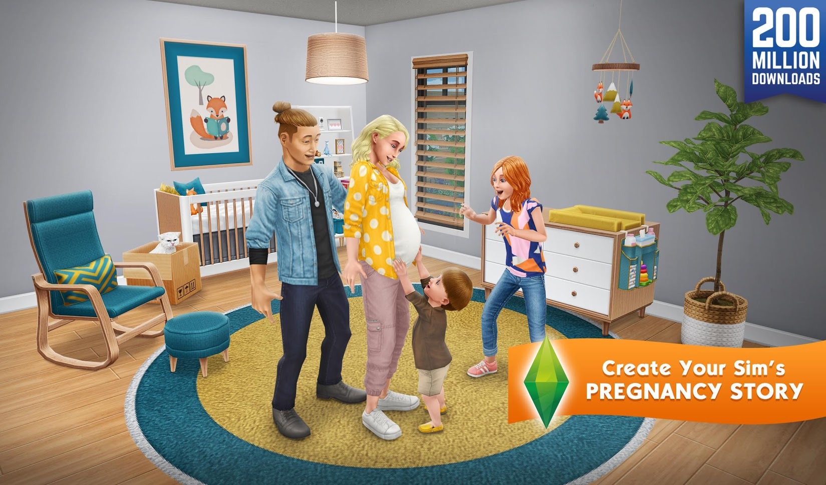Download and install the sims freeplay for pc (windows & mac).