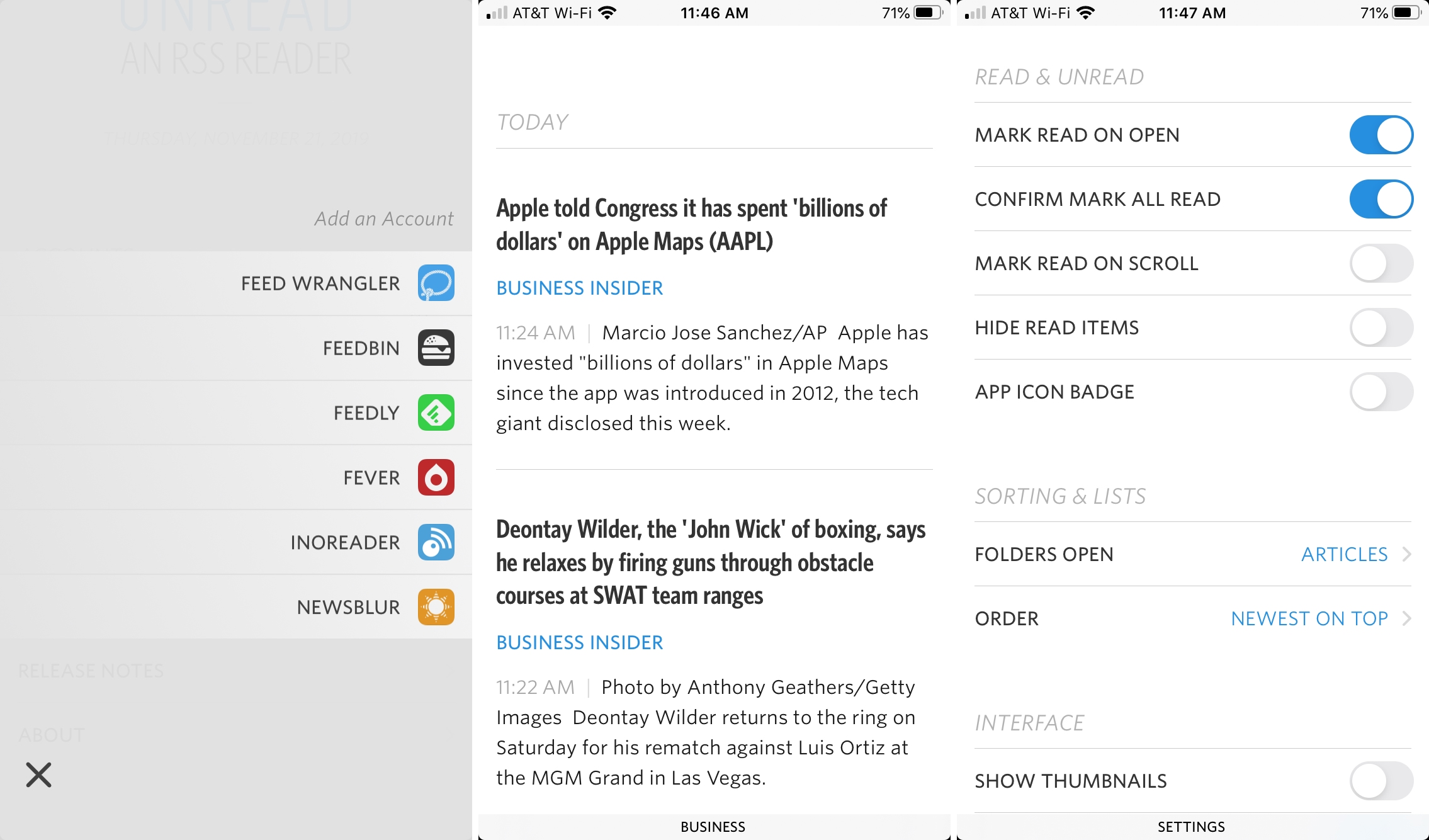 Unread-RSS-reader-iPhone