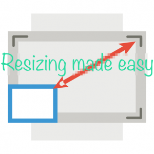 How to bulk resize photos by percentage or pixel size
