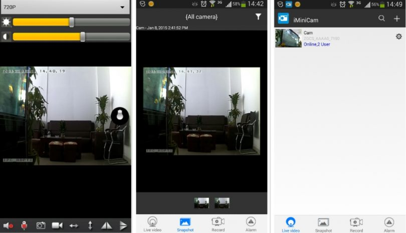 iMiniCam for PC