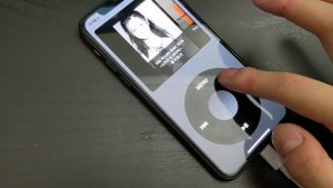app turns your iPhone into an iPod classic