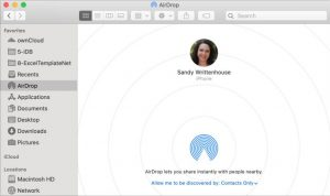 Use AirDrop on iPhone