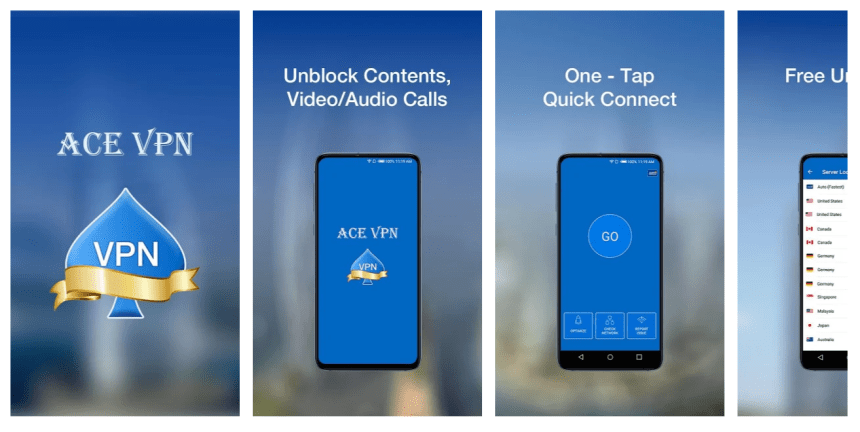 Ace VPN For PC, Windows & Mac Free Download