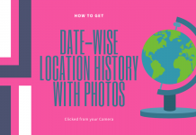 Get Date wise location History