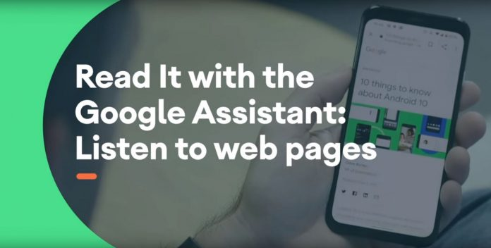'Read it' Feature in Google Assistant
