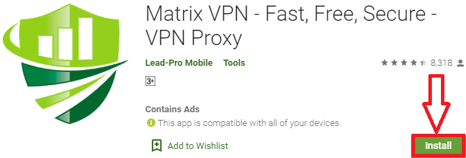 Matrix VPN For PC, Windows & Mac - Free Download