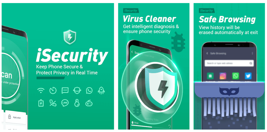 iSecurity Antivirus For PC, Windows & Mac Free Download