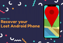 Recover a lost Android Phone
