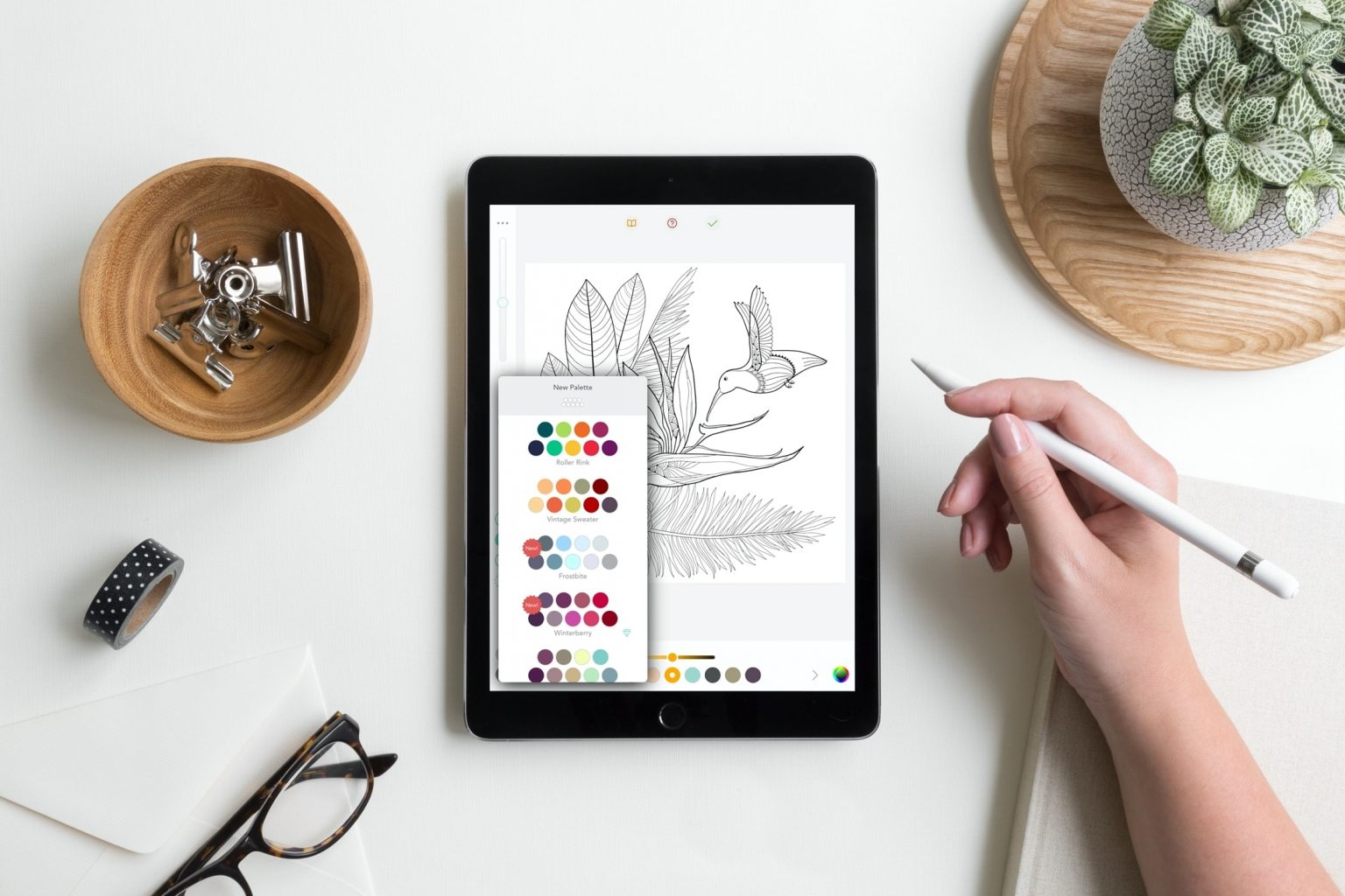 Best Adult coloring Books apps