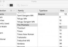 Install & Disable Fonts on Mac