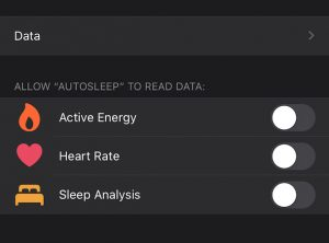 Control Apps Access to Health Data