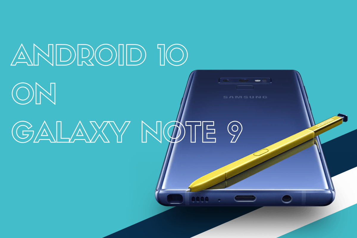 Android 10 Update Note 9