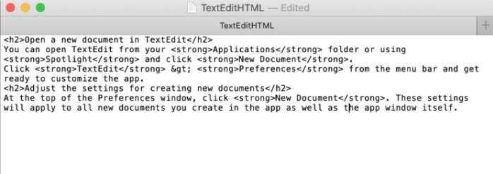 Customize Text Edits On Mac