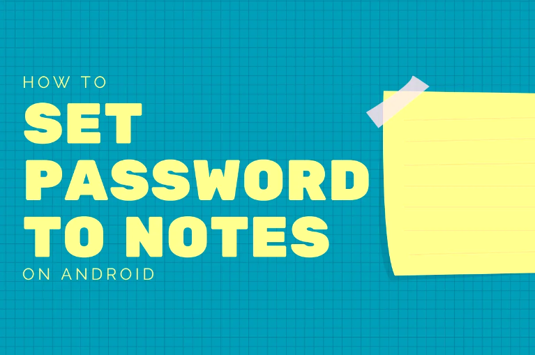 Set Password On Notes App