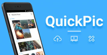 The QuickPic Photo Gallery with the Google Drive support application is one of the best gallery alternatives for managing pictures and videos on Android.