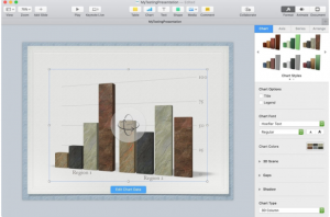 Create Graphs & Charts in Keynote