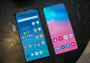 Galaxy Note 9 vs Galaxy S10 Plus