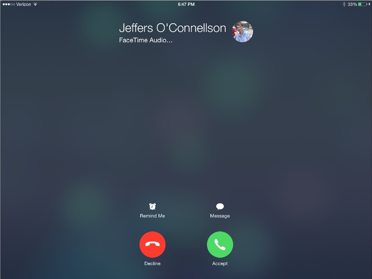 Make A FaceTime Call On iPhone and iPad