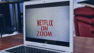 Netflix in a Zoom Meeting