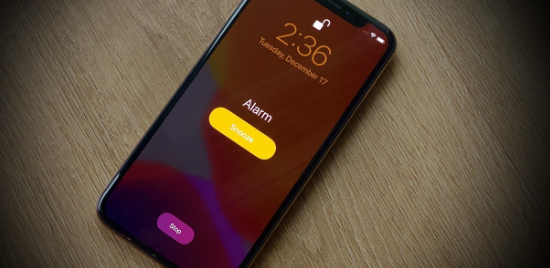 set Music apps as alarm