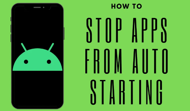 stop applications from auto-starting