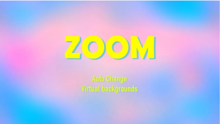 Automatically Modify Your Zoom Background