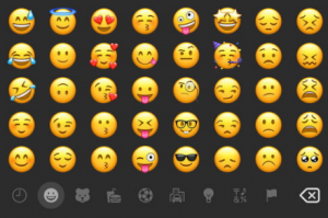 Emoji Reactions Bar on Android