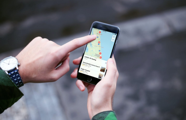 Find COVID-19 Testing Centers Using Maps App